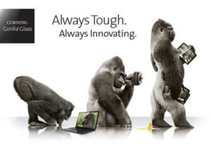 Gorilla Glass Smartphone