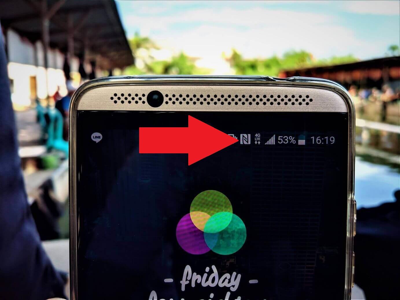 NFC pada smartphone