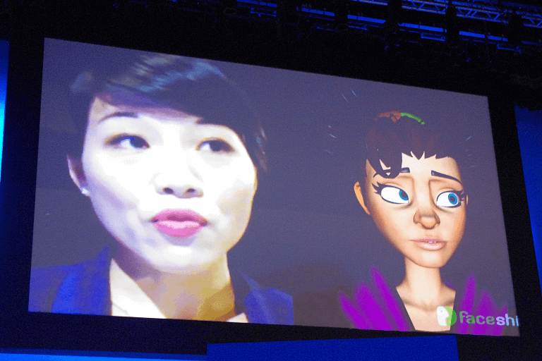 Intel RealSense FaceShift