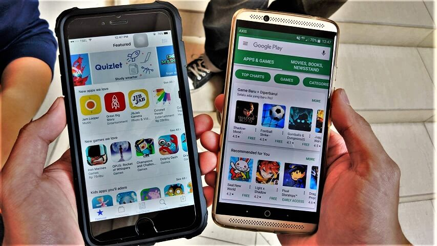 Aplikasi pada Smartphone Android