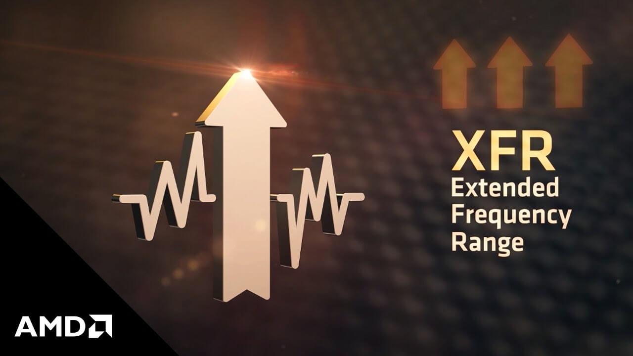 Extended Frequency Range AMD Ryzen