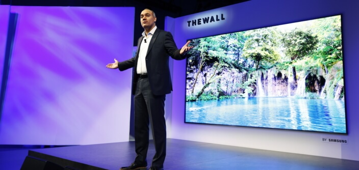 The Wall Samsung 146inch MicroLED TV
