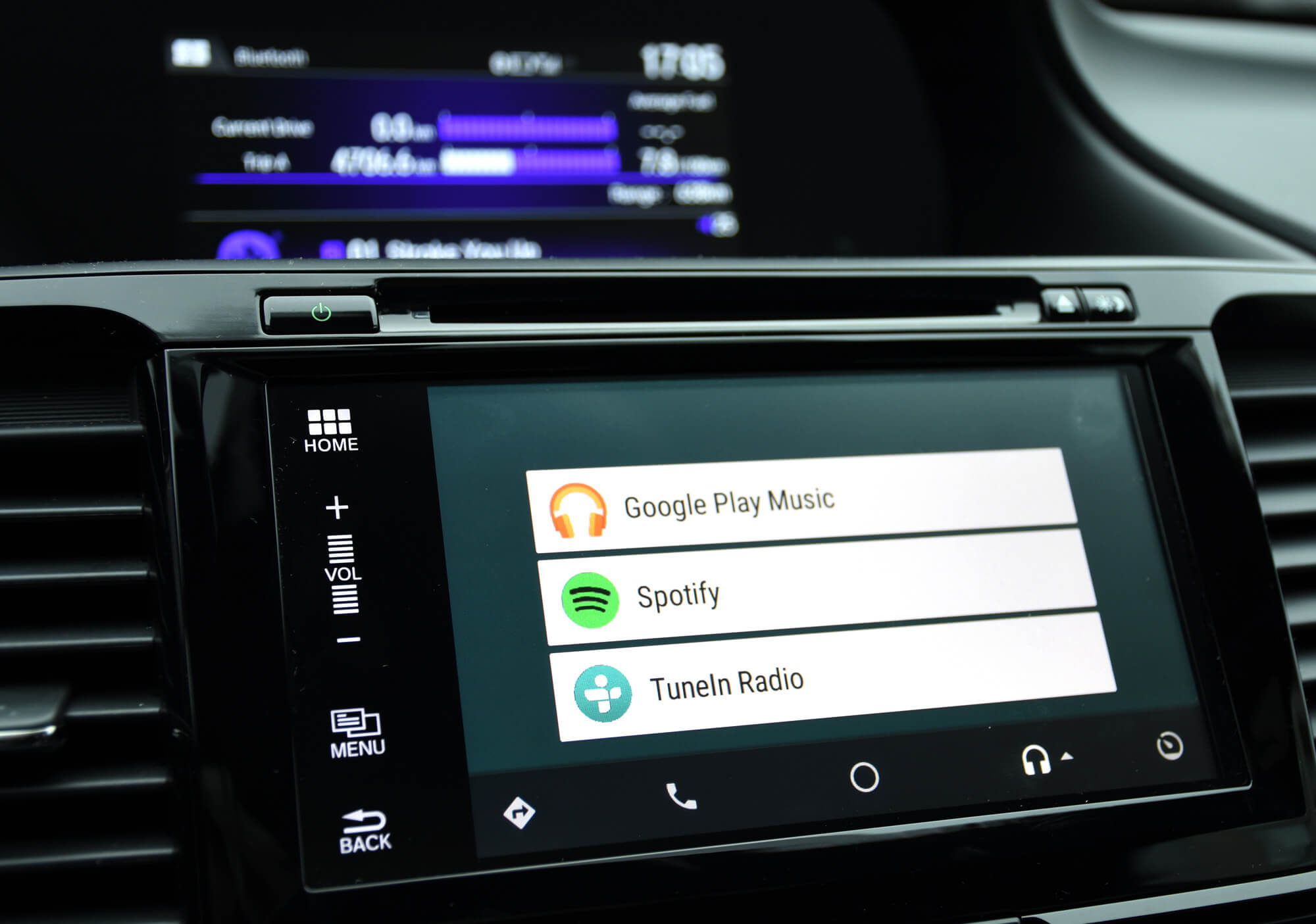 spotify pada android auto